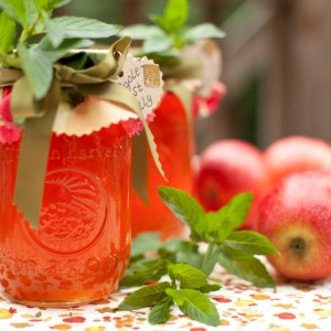 Autumn Apple Mint Jelly