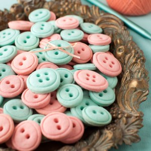 Vanilla Button Cookies - Just for Fun!