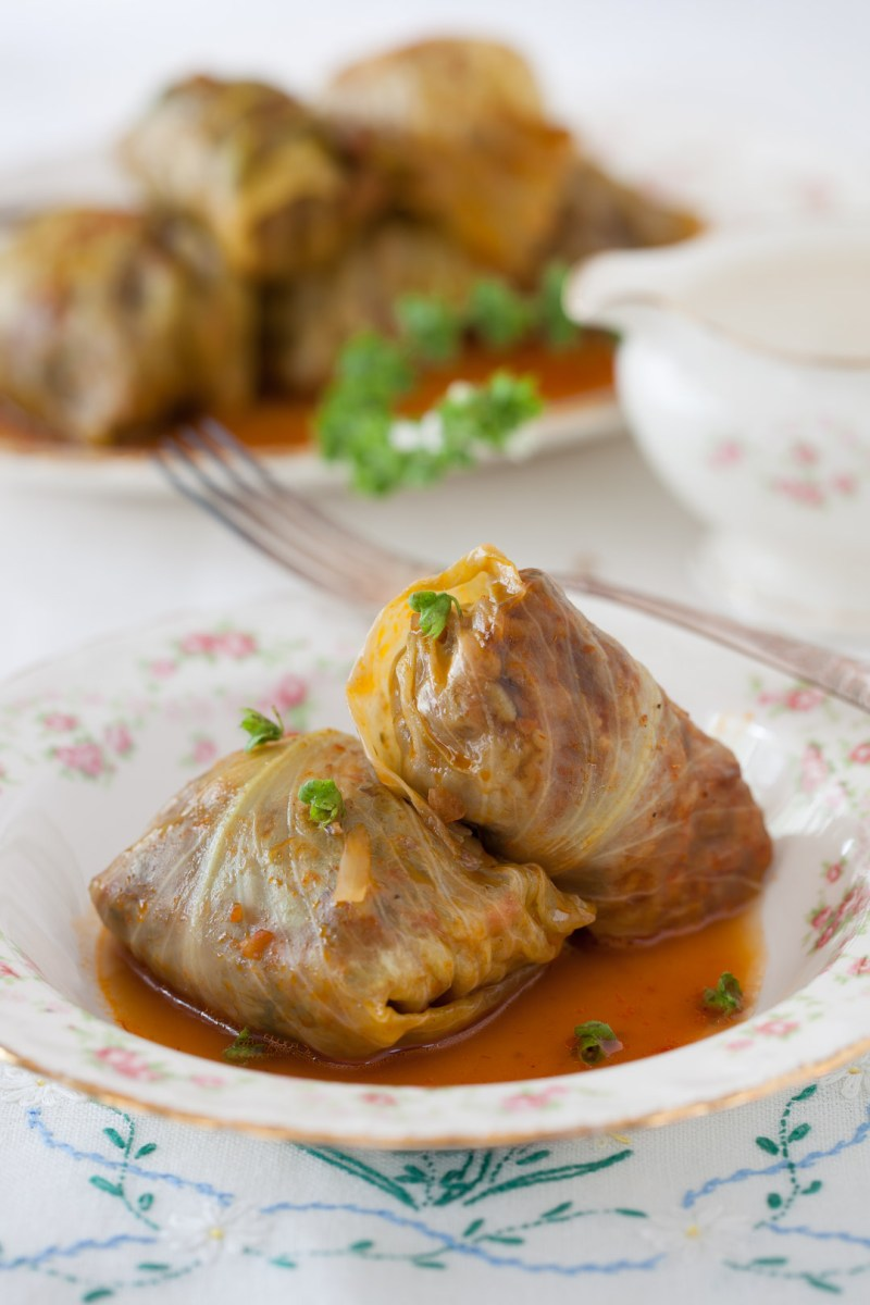 "Russian Monday: ""Golubtsy"" Stuffed Cabbage Rolls"