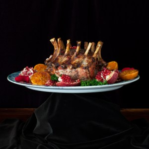 Crown Roast of Pork with Pomegranate