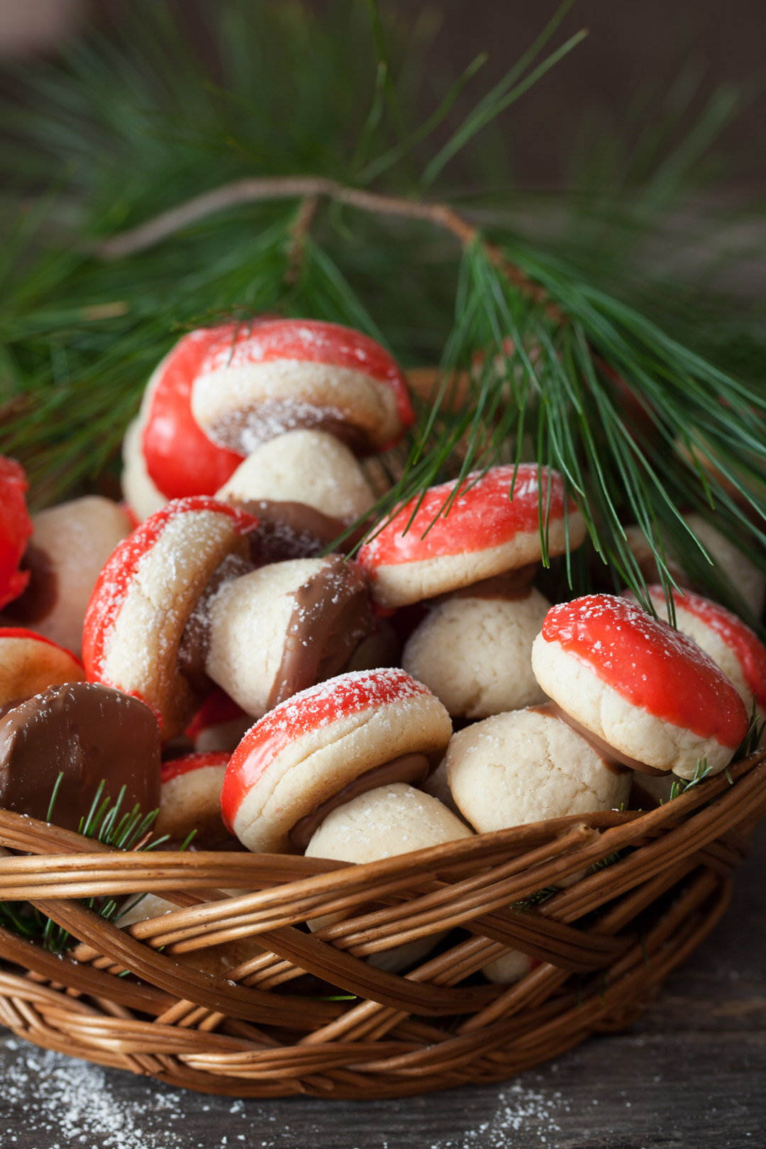 Christmas Cookies 1 Russian Mushroom Cookies Gribochky