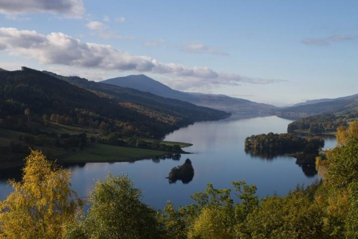 Queens View, Perthshire, Scottish Travel Blog