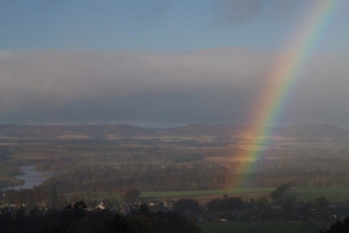 Kinnoull Hill Rainbow