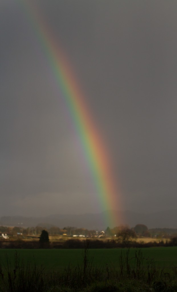 Somewhere over the Perthshire rainbow, Scottish Travel Blog