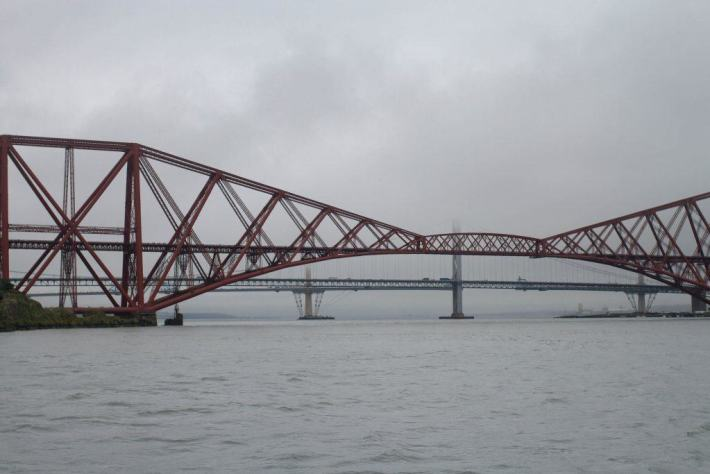 Forth Bridge, Edinburgh, Scotland Travel Blog