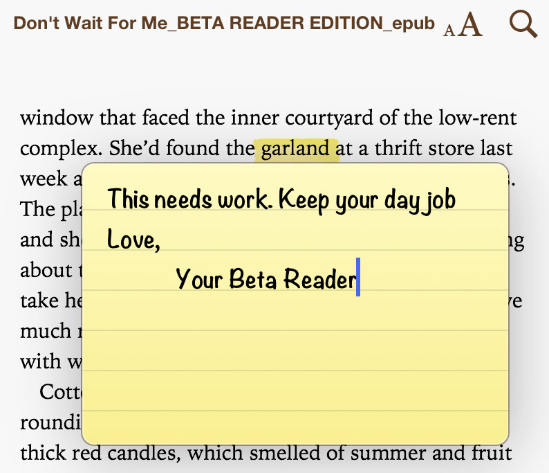 Image result for image of a beta reader