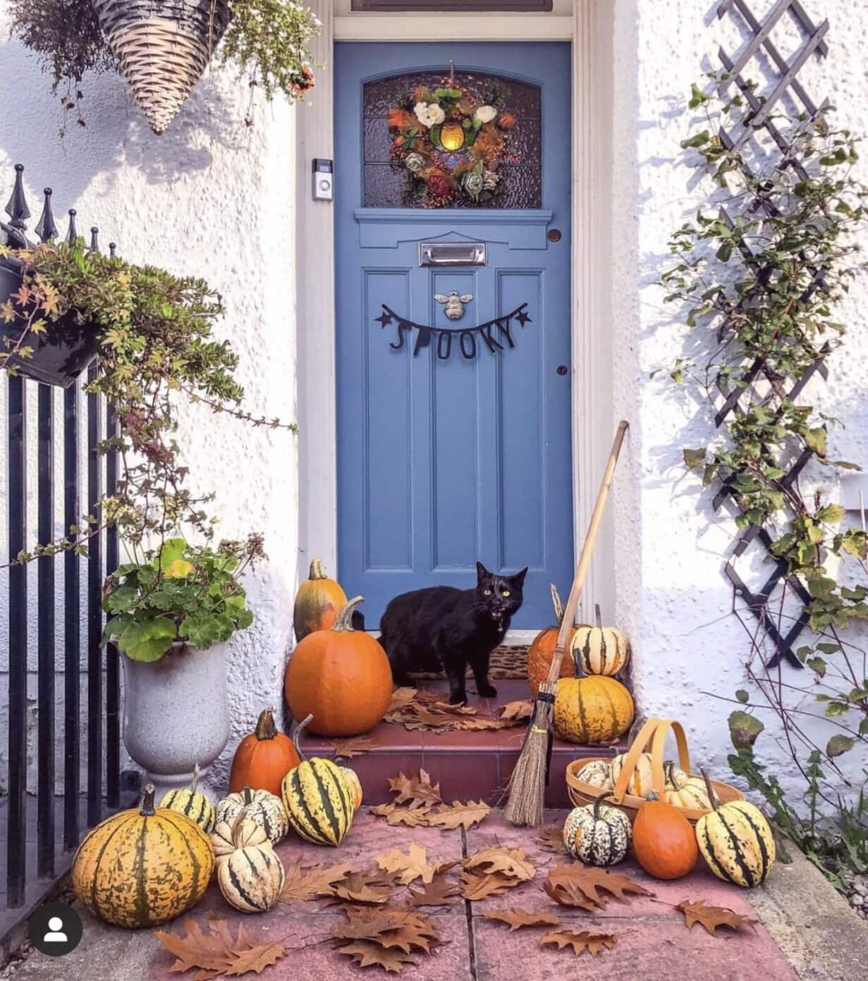halloween, halloween decor, halloween ideas, autumn, autumn decor, home decor, home decor ideas, seasonal, pumpkins, decorations, interior decorations