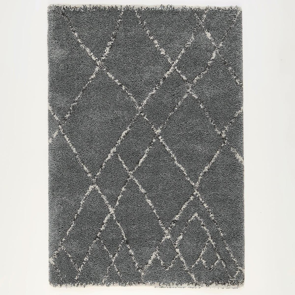 grey berber style rug