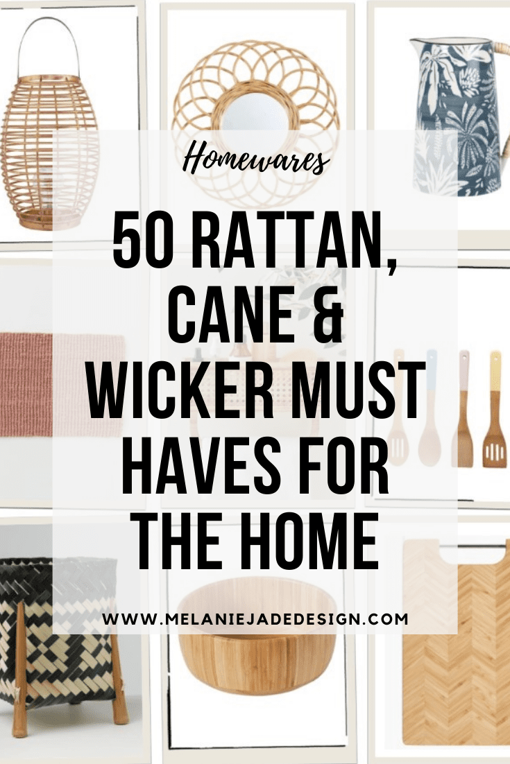 50 rattan, cane and wicker homewares for the home