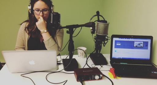 melanie scroggins ready to launch a podcast