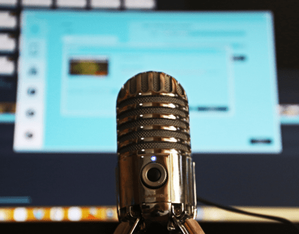 mic computer screen - how to know you're ready to launch a podcast