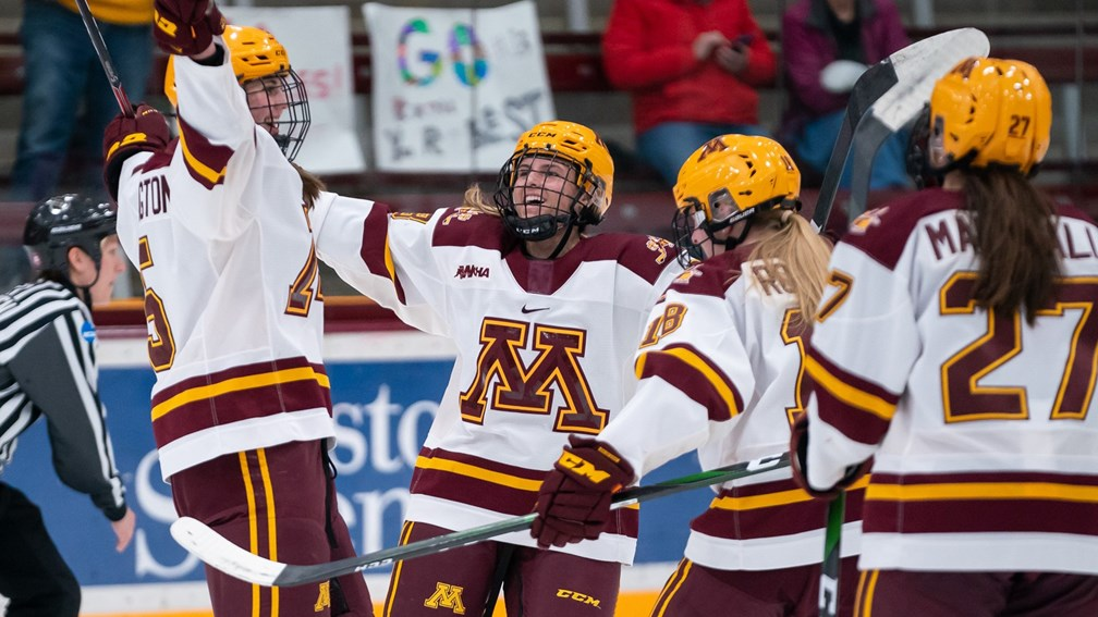University of Minnesota Women's Hockey