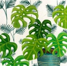 Jungle #1 - Gouache