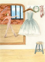 La danseuse - Gouache