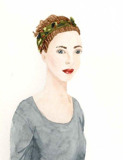 Portrait - Mélanie Voituriez