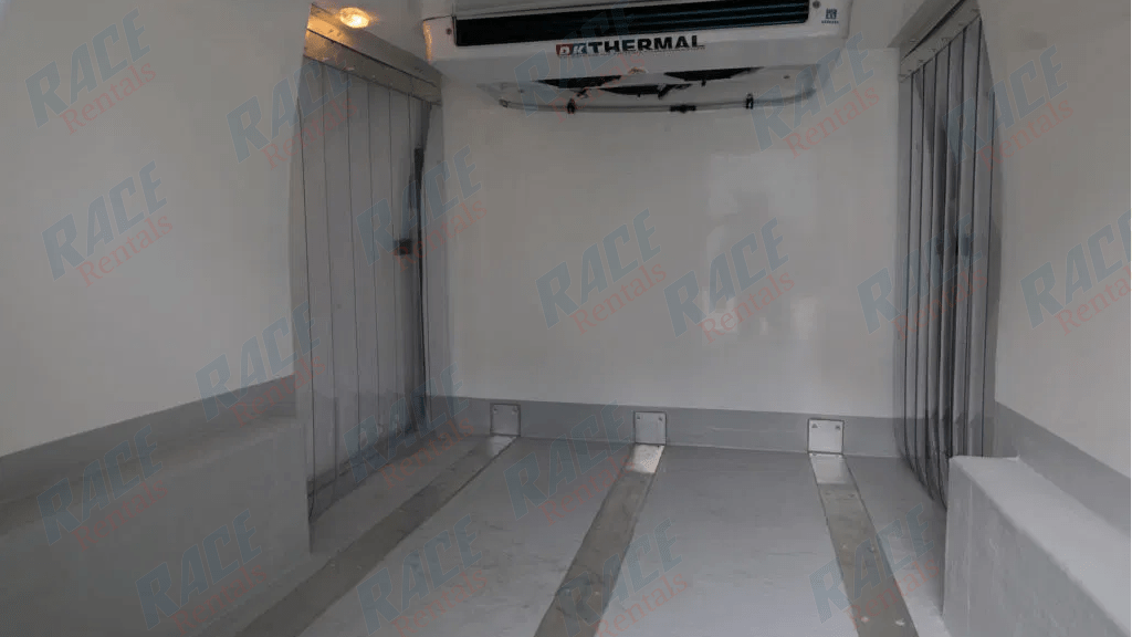 REFRIGERATED FORD TRANSIT 1 TON CUSTOM VAN 300S WITH 2 SLIDING DOORS