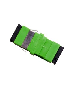 Optical Adaptor - Thru SC/APC Simplex SM (Green)