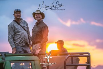 Uganda Wildlife Safaris and Melcom Van Staden Productions hunting in Uganda