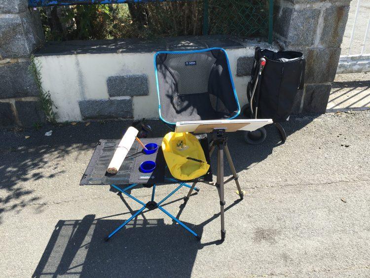 Plein air kit