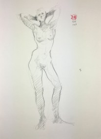 Meldrum life drawing 20161108