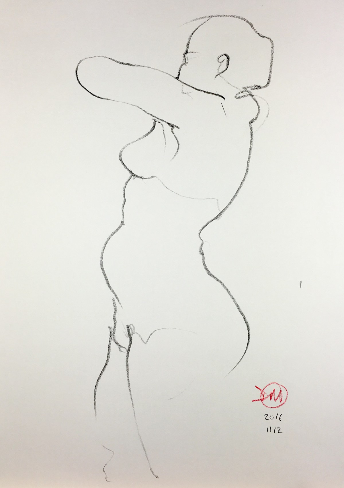 Saturday's life drawing