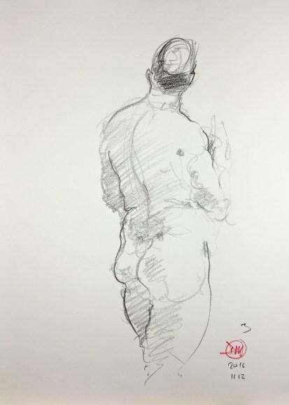 Meldrum life drawing 20161112