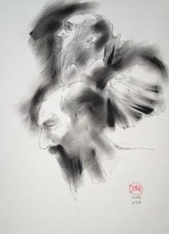 Coal dust sketch
