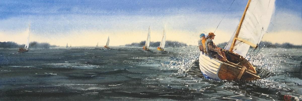 Folkbåt regatta nr.1