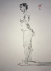 life drawing by david meldrum