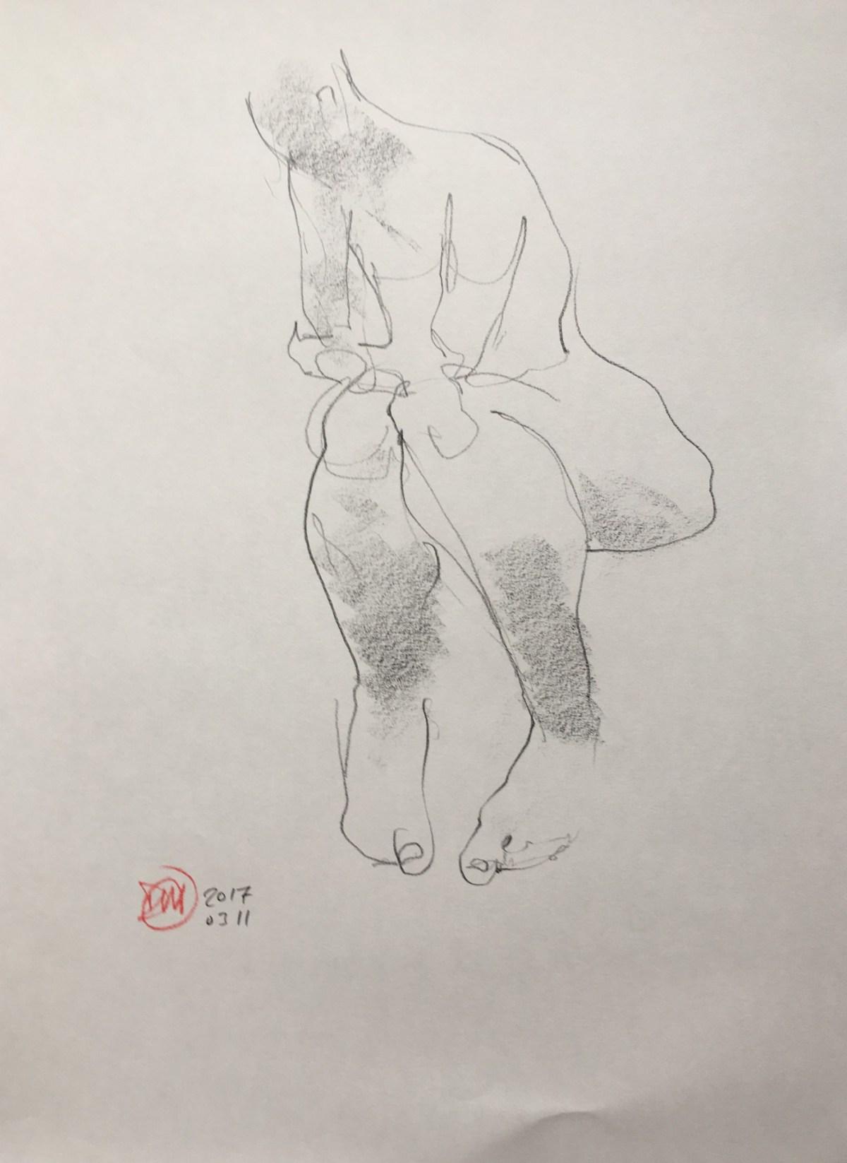 Saturday's life drawing