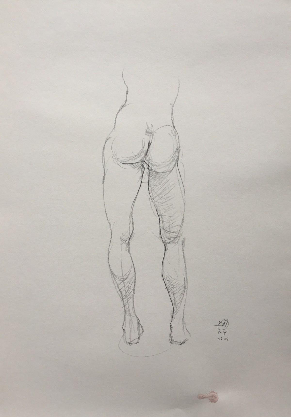 A pencil sketch