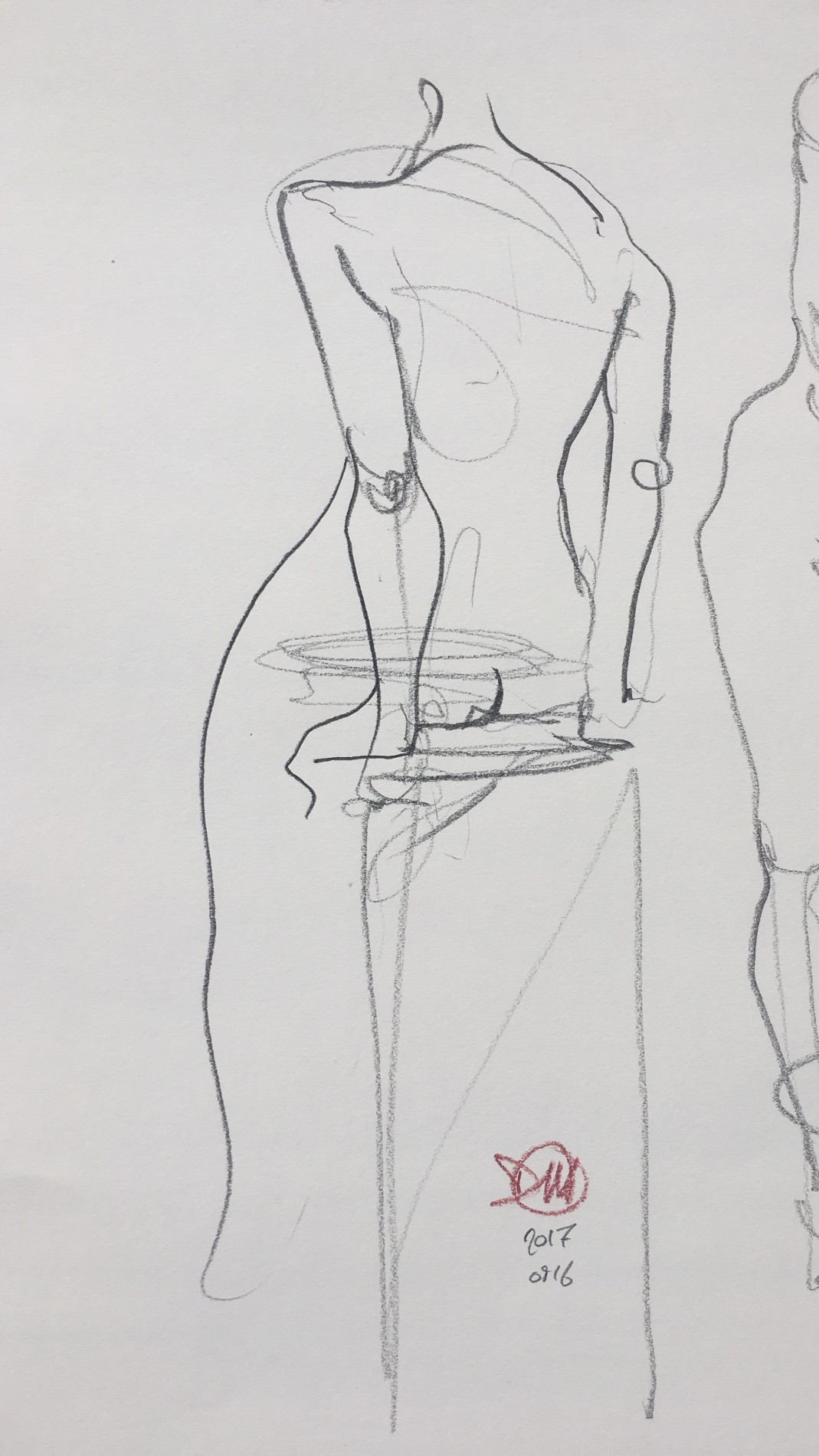 Life drawing at Basis