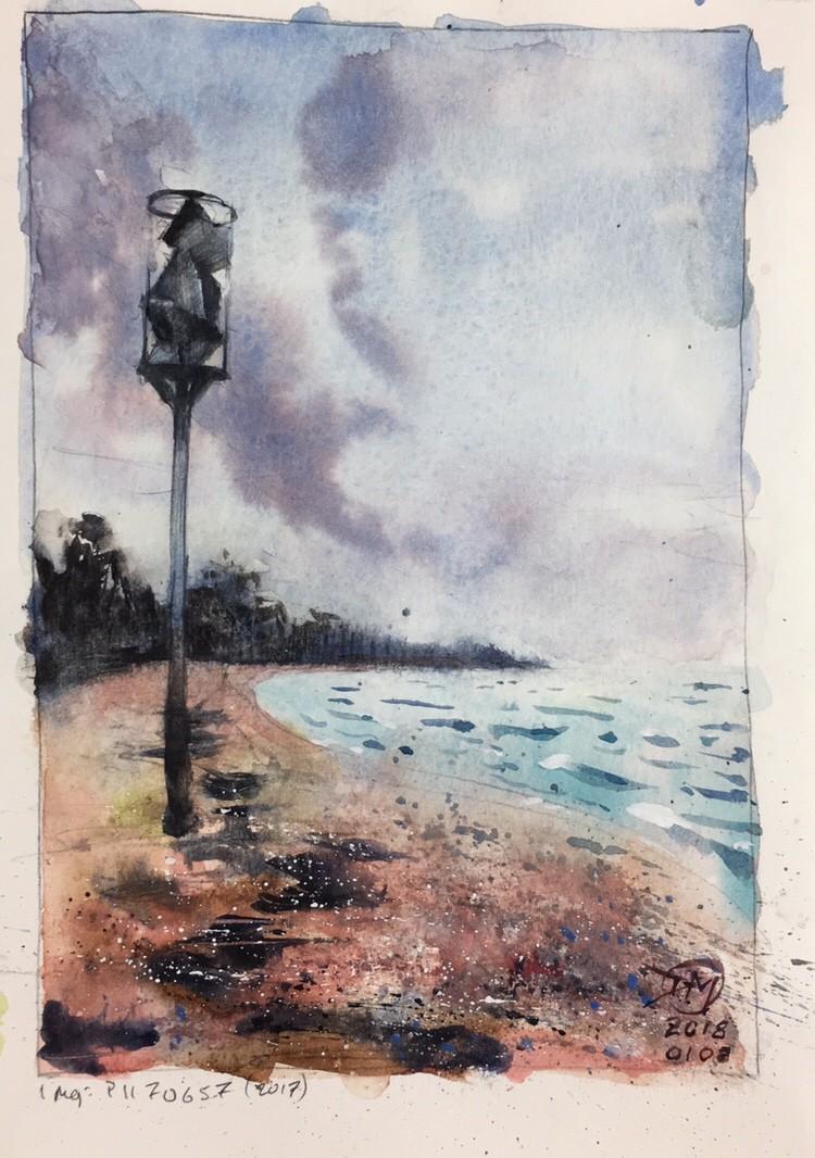 Sandhamn – sketch #2