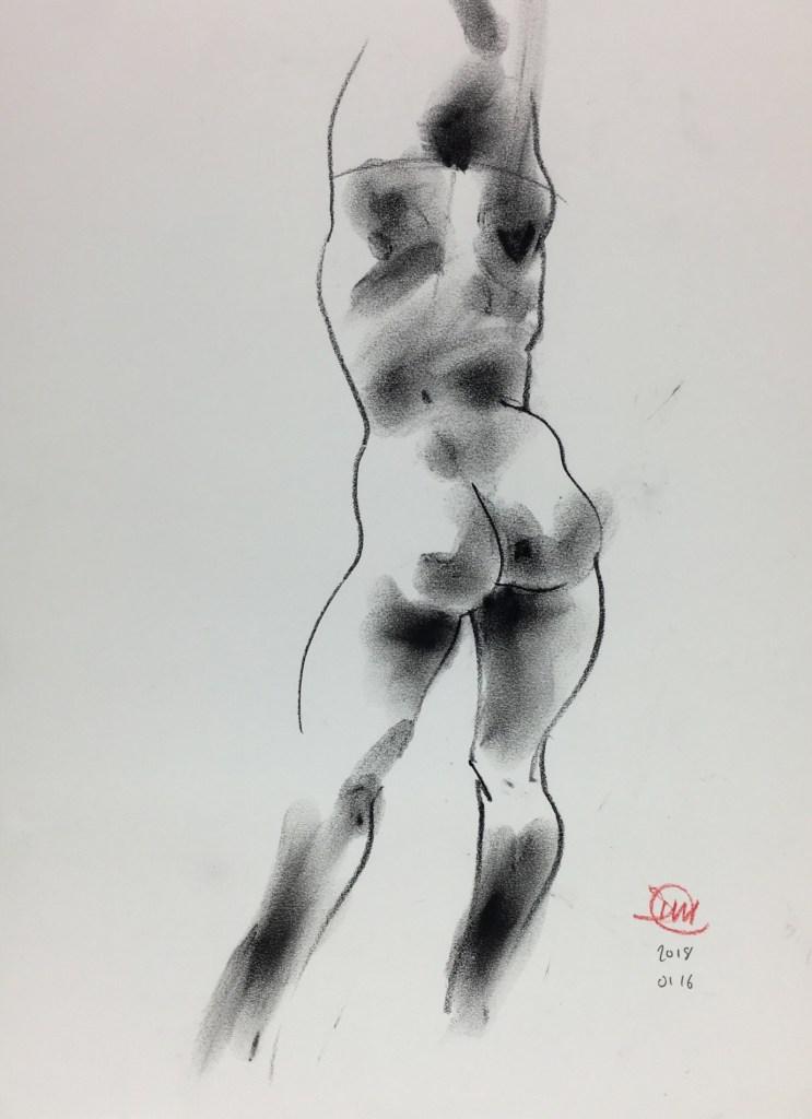 David Meldrum Kroki - Life drawing