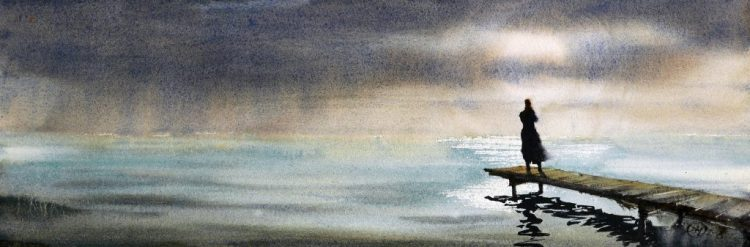 A moment of solitude - original