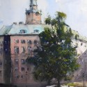 Storkyrkan-akvarell