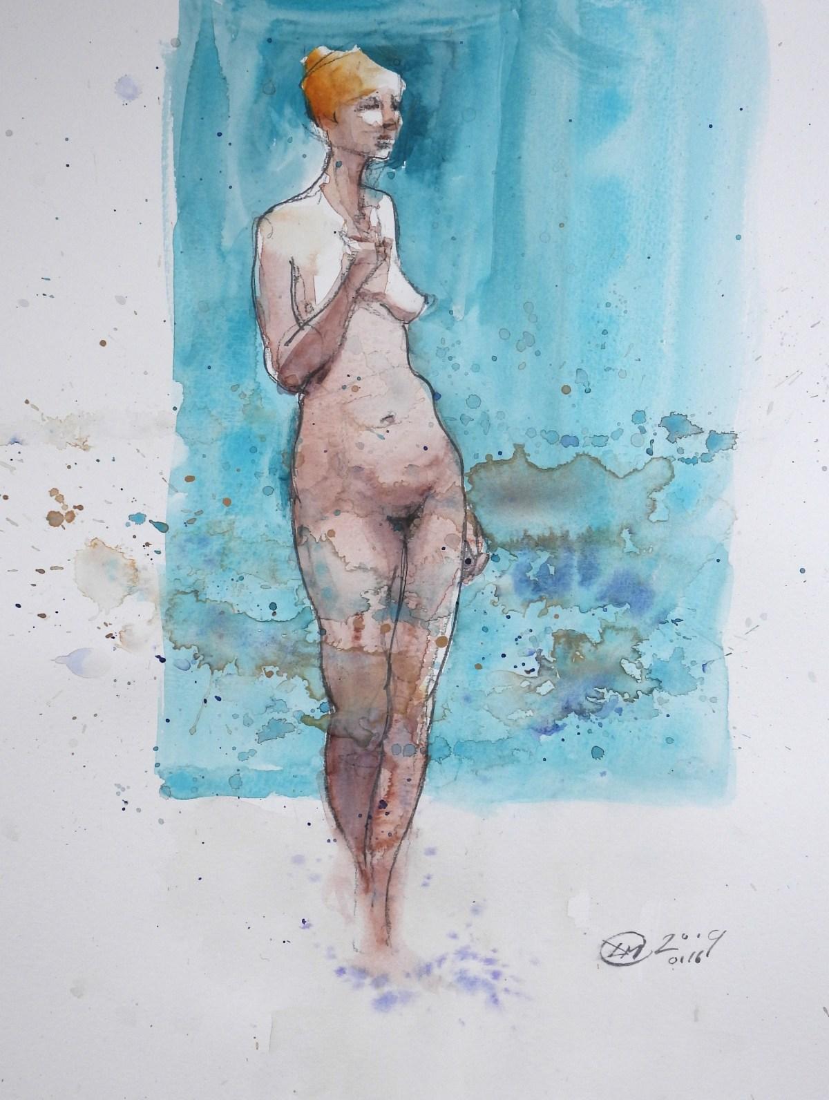 meldrum art nude