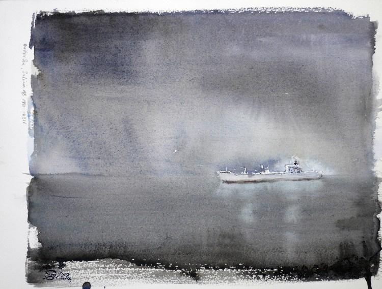 Winter Sea 1980 - Meldrum Art