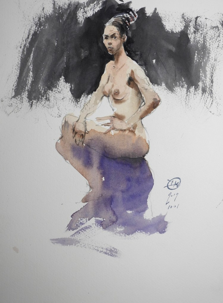 Life drawing by Meldrum #1