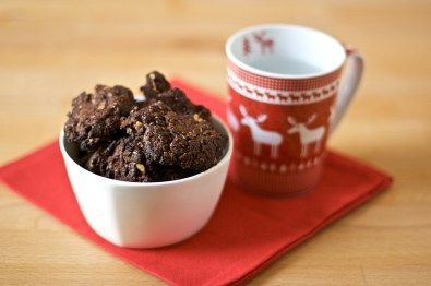 Biscotti cioccolatosi al cioccolato