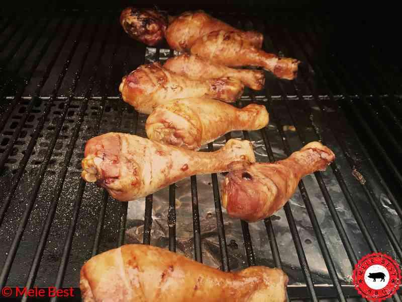 Chicken Legs with Teriyaki sauce