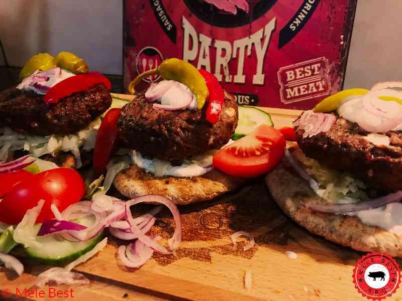 Mediterranen Burger