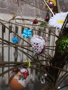albero pasquale uova uncinetto
