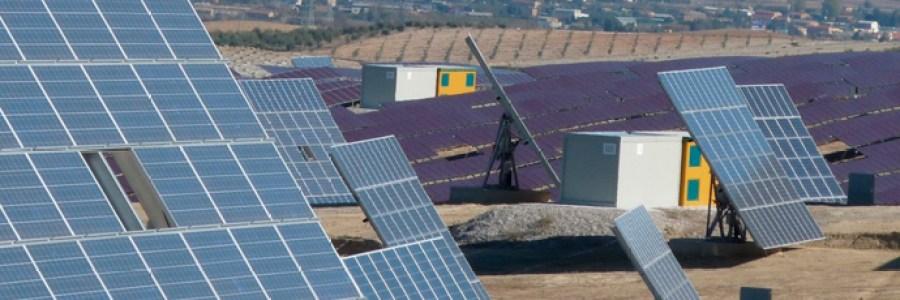 Placas solares de las Centrales de Producción de Energía Eléctrica de Melfosur