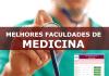 melhores cursos de medicina MEC