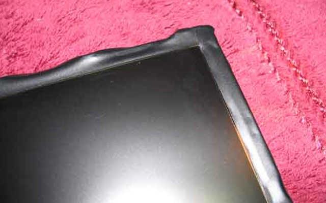 Reparo de tela LCD com vazamento de luz