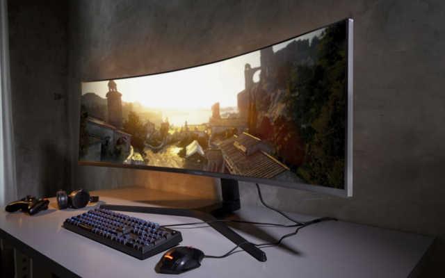 monitor curvo 4k