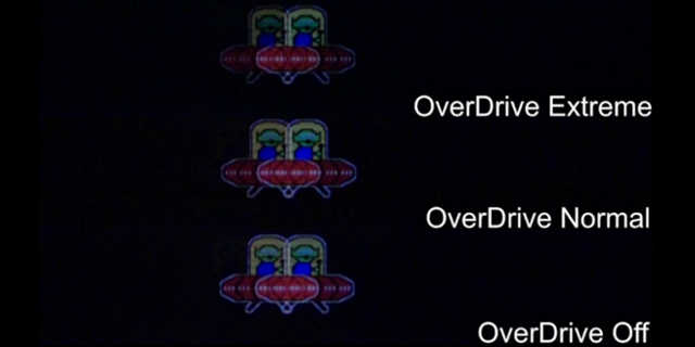 overdrive no monitor