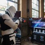 Stormtrooper beim Üben