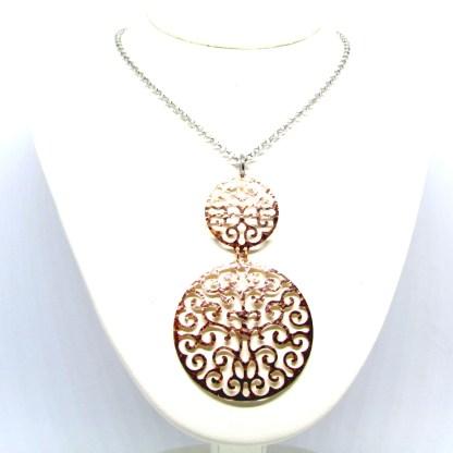 collana donna argento